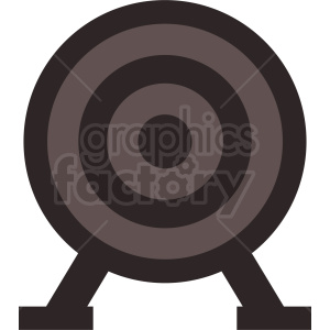 target icon design clipart. Commercial use image # 409085