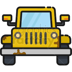 beach buggy jeep icon clipart. Commercial use image # 409164
