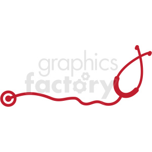 vector stethoscope clipart. Commercial use image # 409240