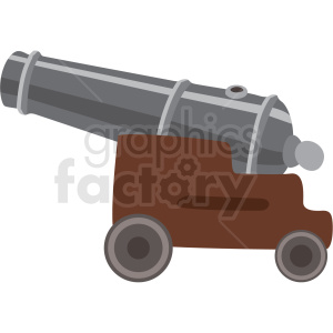 cannon vector clipart no background clipart. Commercial use image # 409409
