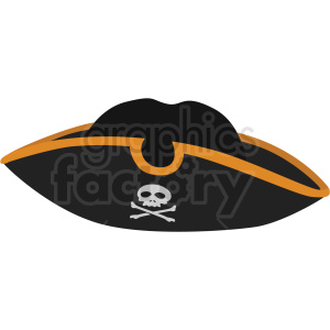 pirate hat vector clipart no background clipart. Commercial use image # 409417