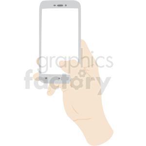 thumb scrolling on phone vector clipart no background