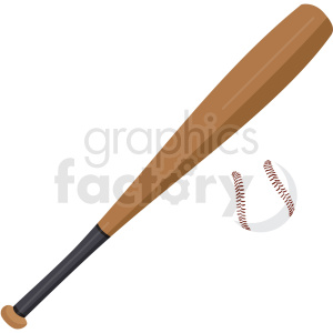 baseball and bat vector clipart no background clipart. Commercial use icon # 409522