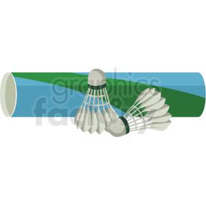 badminton shuttlecock set vector clipart clipart. Royalty-free image # 409523