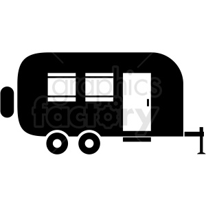 vector trailer icon clipart clipart. Commercial use image # 409708