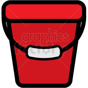water bucket clipart. Royalty-free image # 409733