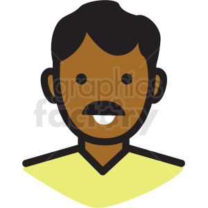 dad avatar vector clipart clipart. Royalty-free image # 409755