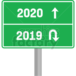2020 road sign clipart no background clipart. Royalty-free image # 410043