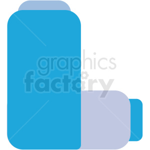 asthma inhaler vector icon clipart. Royalty-free image # 410106