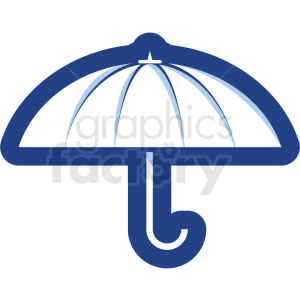 umbrella vector icon no background clipart. Royalty-free image # 410158