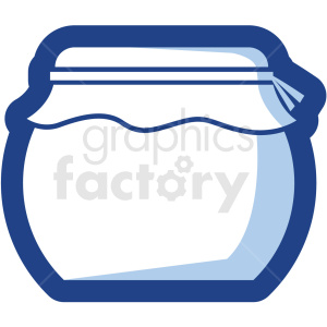 jar vector icon no background clipart. Royalty-free image # 410180