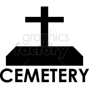 cemetery cross design clipart. Royalty-free image # 410426