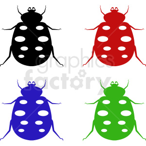 vector insect clipart bundle clipart. Commercial use image # 410492