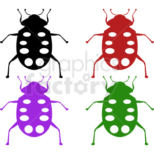 insect vector art clipart. Commercial use image # 410494