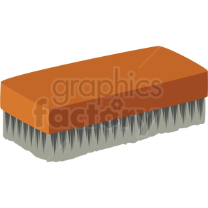 cleaning brush vector clipart clipart. Commercial use image # 410536