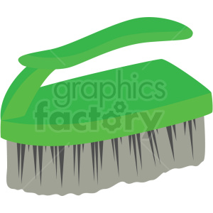 cleaning scrub brush vector clipart
