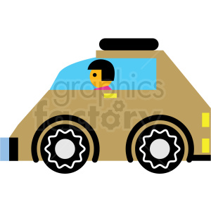 cartoon car vector icon clipart. Royalty-free image # 410671
