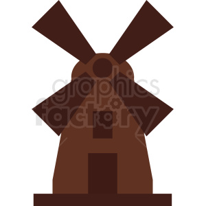 windmill vector clipart. Royalty-free image # 410740
