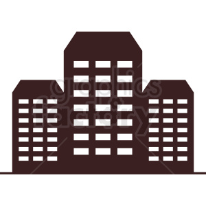 professional office buildings vector clipart clipart. Commercial use image # 410743