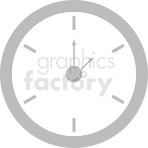 basic clock design clipart clipart. Royalty-free image # 410837