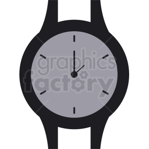 wrist watch face vector clipart clipart. Royalty-free image # 410839