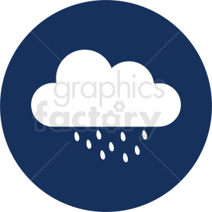 rain icon clipart. Commercial use image # 410952
