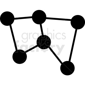 network vector icon clipart. Commercial use image # 410997