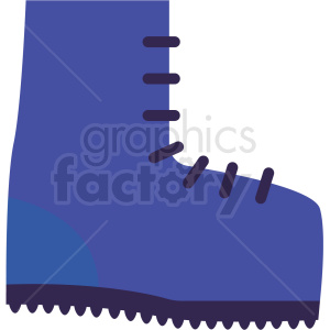 climbing boots vector icon clipart. Royalty-free icon # 411261