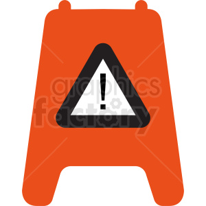 caution floor sign vector clipart clipart. Royalty-free image # 411876