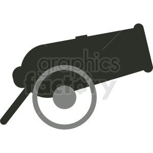cartoon cannon clipart