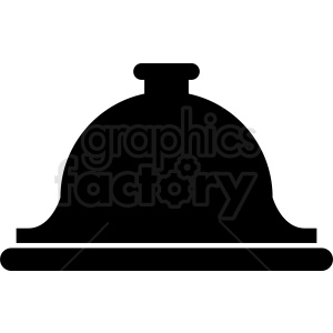 service bell vector clipart clipart. Commercial use image # 411932