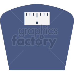 blue human scale vector clipart clipart. Commercial use image # 412149