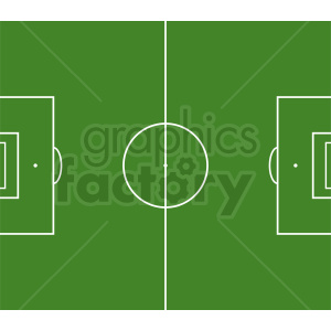 soccer field vector clipart clipart. Commercial use image # 412165