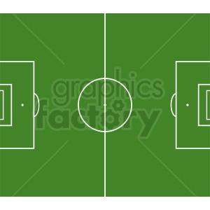 soccer field vector clipart