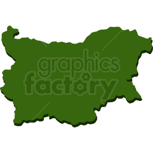 Bulgaria country vector clipart. Royalty-free image # 412182