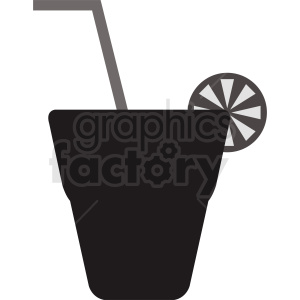 drink vector silhouette clipart. Royalty-free image # 412242