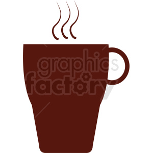 brown coffee cup design clipart. Royalty-free image # 412283