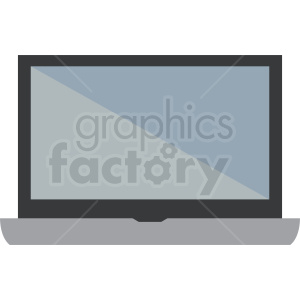 laptop computer vector clipart clipart. Royalty-free image # 412306