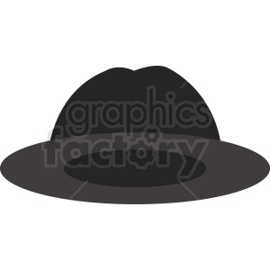 fedora hat clipart clipart. Royalty-free image # 412393