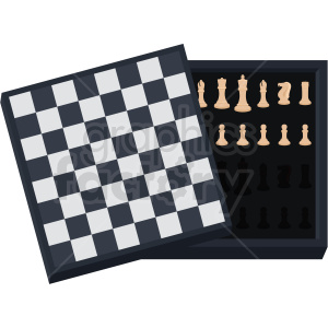 chess board storage vector clipart clipart. Royalty-free image # 412483