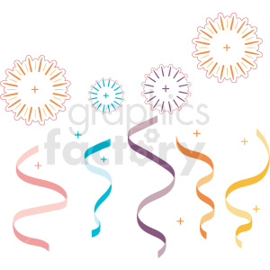 streamer vector cut files clipart. Royalty-free image # 412618