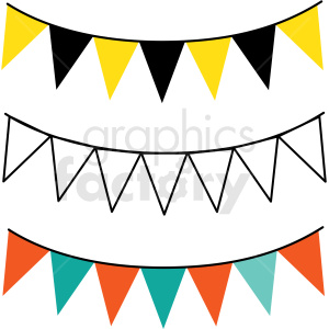 party banner vector design clipart. Commercial use image # 412669