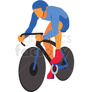 olympic bicycle vector clipart