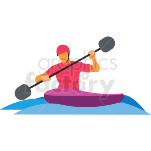 olympic rafting vector clipart clipart. Commercial use image # 412824