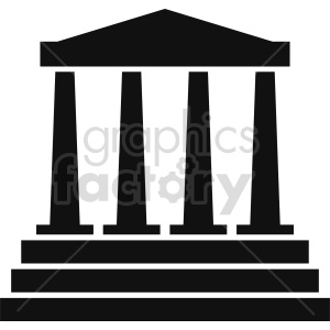 building pillars vector clipart 9