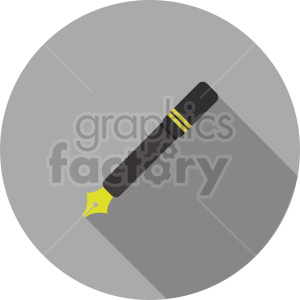 ink pen vector clipart 1 clipart. Commercial use image # 413520