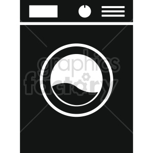 washing machine vector icon graphic clipart 5 clipart. Commercial use image # 413560