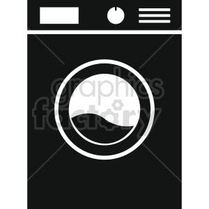 washing machine vector icon graphic clipart 5