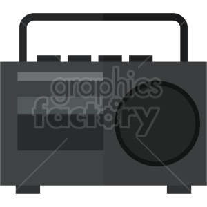 90s radio vector icon graphic clipart 2