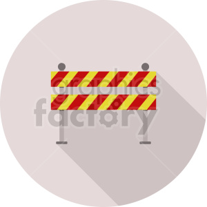 barricade roadblock vector graphic clipart 2 clipart. Commercial use image # 413634